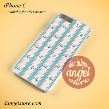 Anchor Light Blue Phone case for iPhone 6 and another iPhone devices