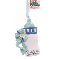Personalized Ornament Baby Bottle Ornament Resin Ornament