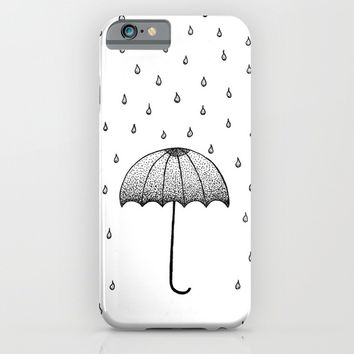 In The Rain iPhone & iPod Case by Cinema4design