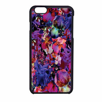 Lush Floral Pattern Beaming Orchid Purple iPhone 6 Case