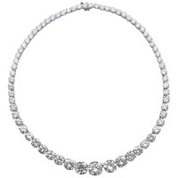 Diamond 64 Carat Rivière Necklace