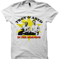 COMMUNITY TV SHOW SHIRTS TROY AND ABED SHIRTS COOL SHIRTS CELEBRITY SHIRTS FUNNY SHIRTS BIRTHDAY GIFTS CHRISTMAS GIFTS
