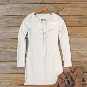 Luner Lace-up Dress