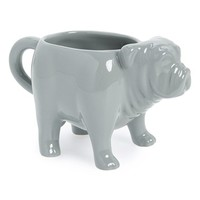Fishs Eddy 'Bulldog' Mug - Grey