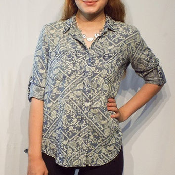 Tencel shirt - Riley Paisley