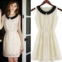 Waisted Grace Lace Dress