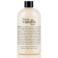 french vanilla bean ice cream | shampoo, shower gel & bubble bath | philosophy
