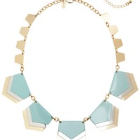 SHORT LAYERED CHEVRON NECKLACE