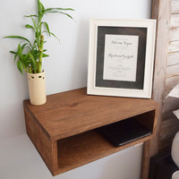 Floating Bedside Tables (pair of two)