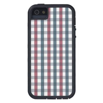 patriotic plaid case for iPhone SE/5/5s