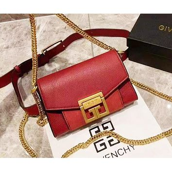 Givenchy fashion versatile small square bag shoulder chain bag 4#