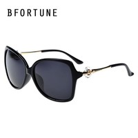 BFORTUNE 2017 Vintage Luxury Brand Sunglasses Women Brand Designer Big Frame Polarized Sun Glasses Lentes De Sol Mujer Gafas