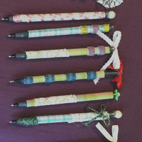 Decorated Pens - Each one unique