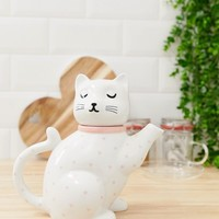Sass & Belle cat teapot at asos.com