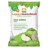 Happy Baby™ Happy Munchies™ 1.4 oz. Organic Brown Rice Cakes in Apple