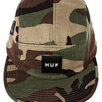 The Japanese Camo 5 Panel in Woodland Camo