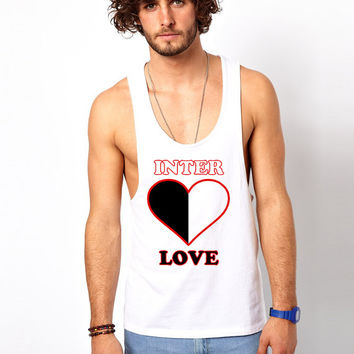 Inter-Love T-Shirt, Unisex Graphic Tee, One Love T-Shirt, Made in the USA,  Alternative Apparel, Best T-Shirts, Valentine's Day Ideas