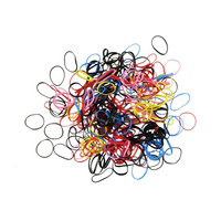 Elastic Hair Bands 500pcs High Quality Rubber Hairband Rope Ponytail Holder Elastic Hair Band Ties Free Shipping