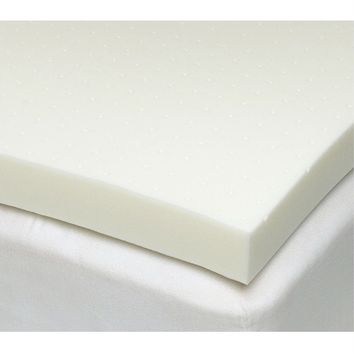 California King size 3-inch Thick Ventilated Memory Foam Mattress Topper