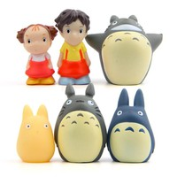 Totoro Christmas Stocking Stuffers Cute Kawaii Action Figures