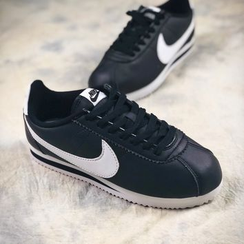Nike Classic Cortez Blue Sport Running Shoes - Best Online Sale