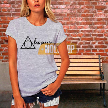 Harry Potter always deathly hallow T-shirt by HOLOHOP