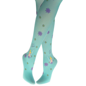 Tinkerbell - Secret Wishes Blue Girls Fashion Tights