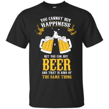 Beer same as Happiness Men's T-Shirt