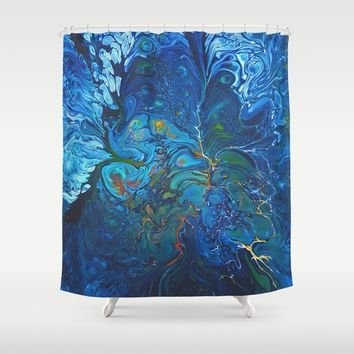 Organic.3 Shower Curtain by DuckyB