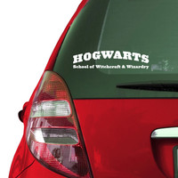 Hogwarts School of Witchcraft and Wizardry Vinyl Sticker