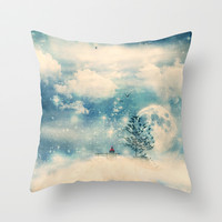 I know a place... Throw Pillow by Paula Belle Flores
