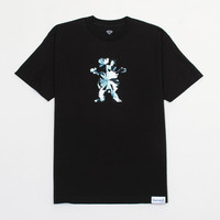 Simplicity Bear Tee in Black