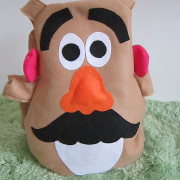 Mr. Potato Head Halloween Costume, Children, Toddler, Kids Costume , Custom size made to Order Toy Story Inspired Costume