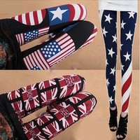 The American flag leggings from Fashion Accessories Store