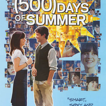 500 Days of Summer Movie Poster 24x36