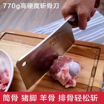 High quality stainless steel kitchen knife+cooking tools+wooden handle slicing knives+ gifts /professional chef /cleaver chopper