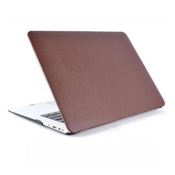 "Newest Fasion PU Leather Rubberized Hybrid Hard Case Laptop Shell Cover For Macbook Air 11"" 13"" Pro 13"" 15"" Retina 12"" 13""15"""