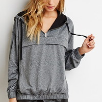 Heathered Pocket Hoodie