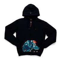 10 Deep: Native Zip Hoody - Black