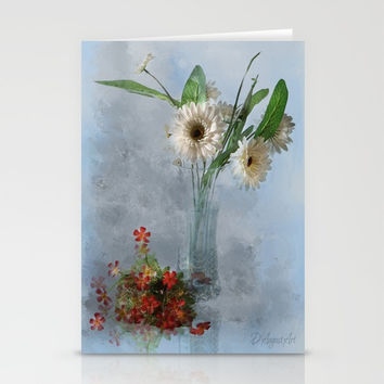 Wildflower Still LIFE Stationery Cards by Theresa Campbell D'August Art