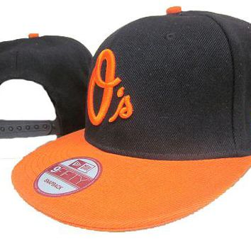 Baltimore Orioles New Era MLB 9FIFTY Cap Black-Orange