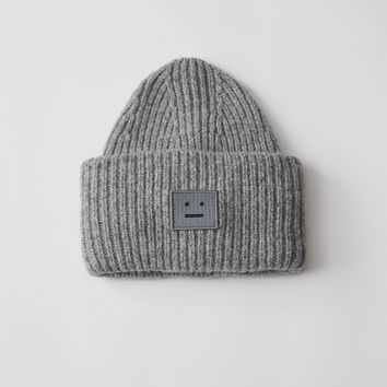 Pansy Wool Beanie Hat by Acne Studios