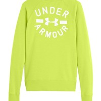 Under Armour Women's Charged Cotton® Legacy Fleece Crew