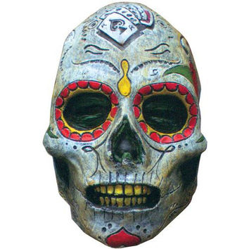 Costume Mask: Day of the Dead Zombie Latex Mask