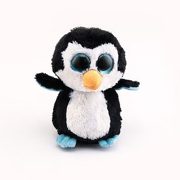 Ty Beanie Boos Big Eyes Stuffed & Plush Animals Toys Dolls Black Penguin Girl Gifts