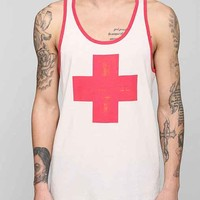 Cross Tank Top- White S