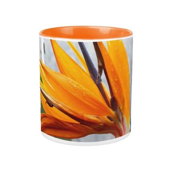 Bird of Paradise Floral Coffee Mug