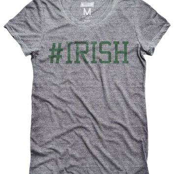 Notre Dame #IRISH Women's T-Shirt
