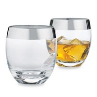 Wine Enthusiast Madison Avenue Whiskey Glasses (Set of 2)