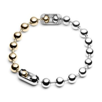 Eddie Borgo Pavé Ball Chain Necklace